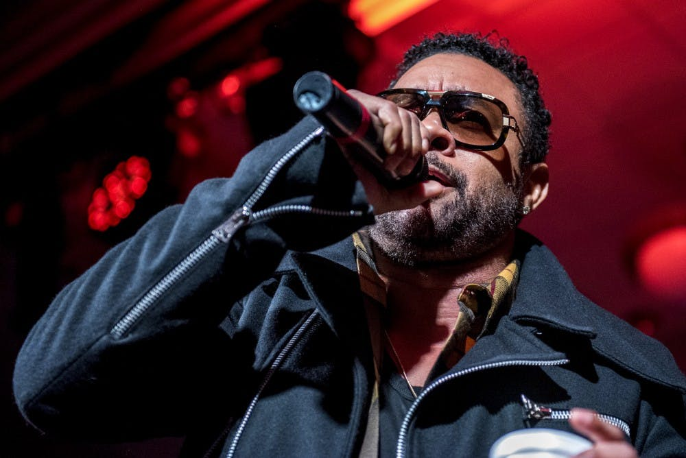 Shaggy performs to a crowd full of 'Angels' in Baker Ballroom