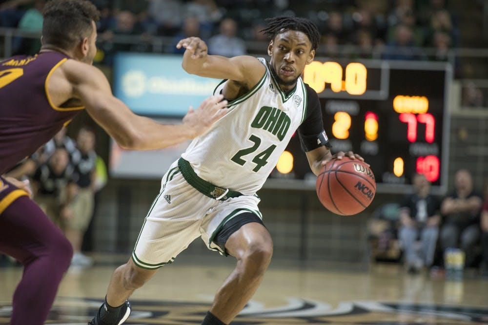 Men's Basketball: Ohio falls in double overtime to Central Michigan 101-98