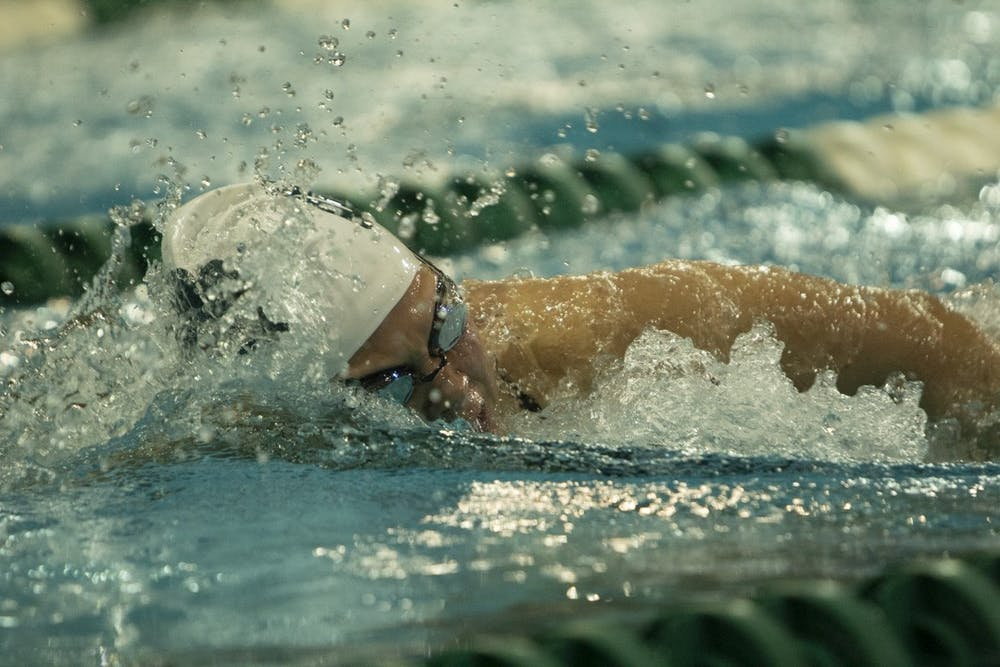 Swimming and Diving: Ohio impresses with individual results, despite overall loss to Akron