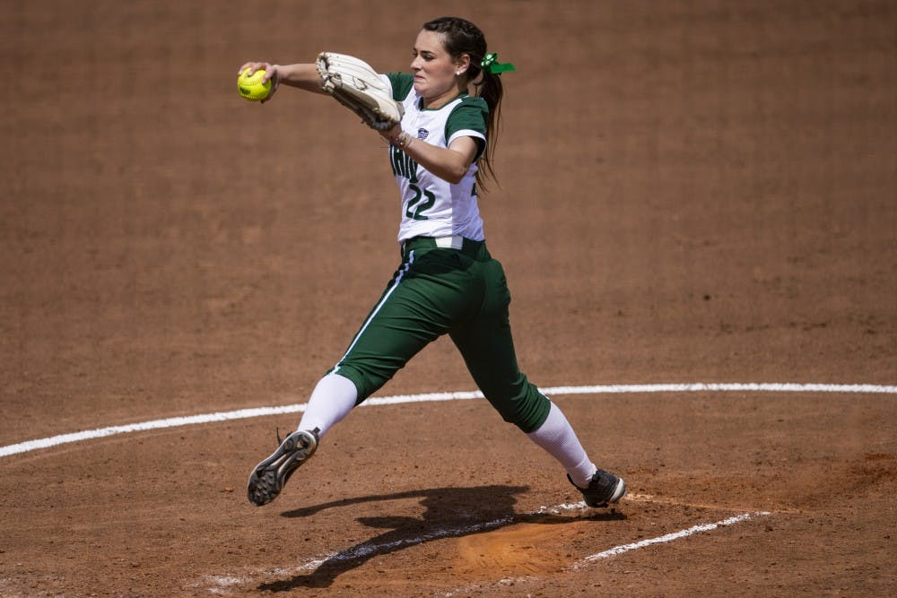 Softball: Offense struggles as Ohio drops both games in doubleheader with Miami