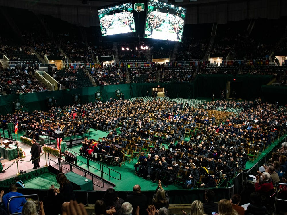 About 800 students received their diplomas during Fall Commencement on Saturday, Dec. 14, 2019.