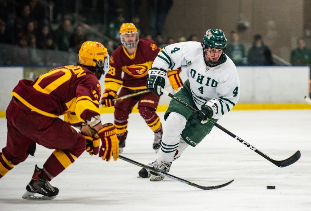 Hockey: Shuffled roster shines in win over Iowa State