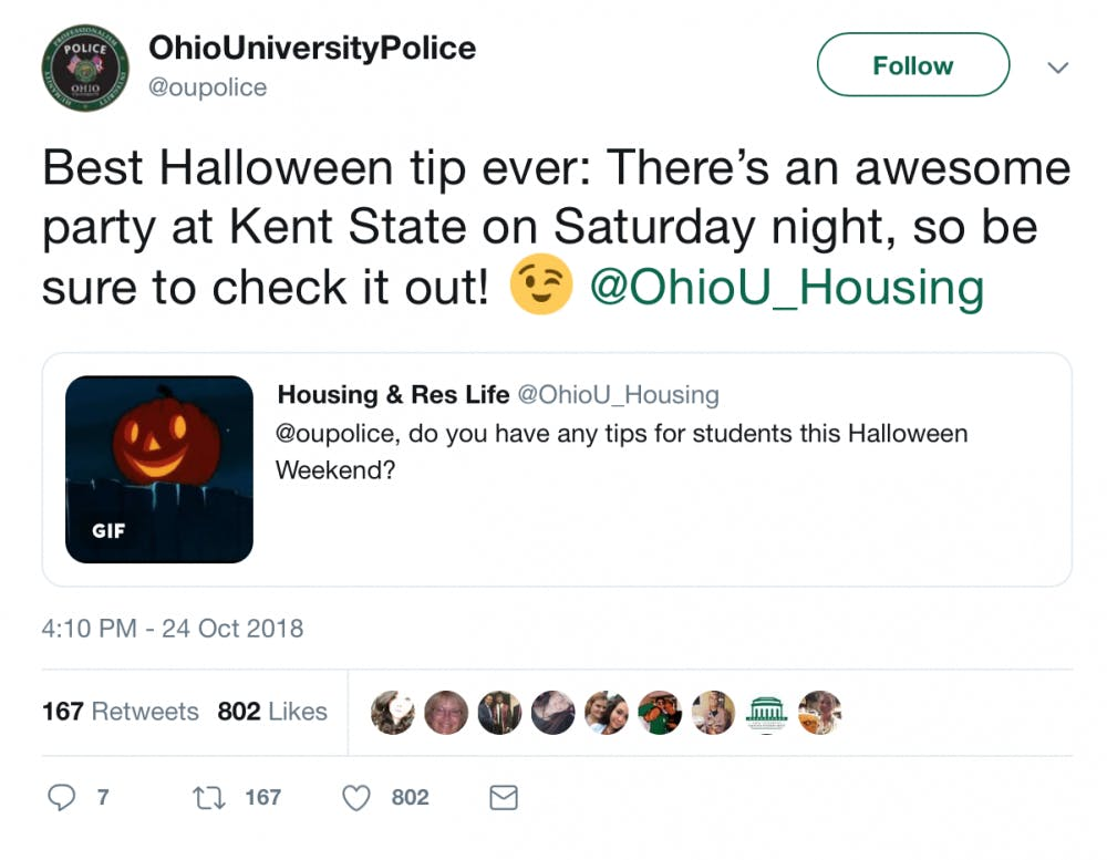 7 tweets that perfectly describe the Athens Halloween Block Party