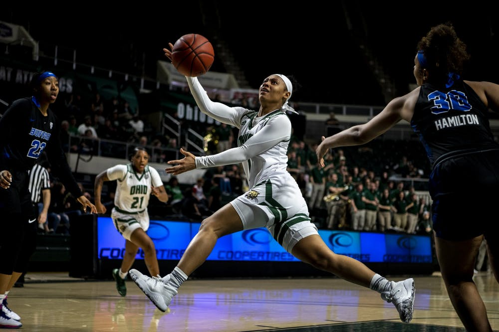 Women's Basketball: Ohio carries burden of 63-62 loss to Buffalo as a team