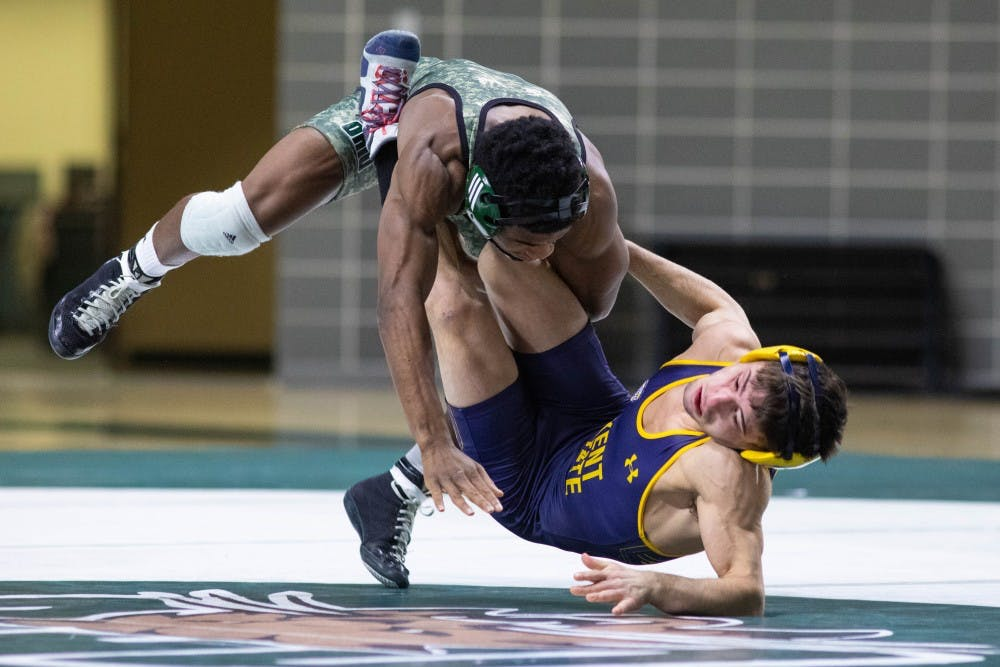Wrestling: Ohio prepares to face off against Central Michigan