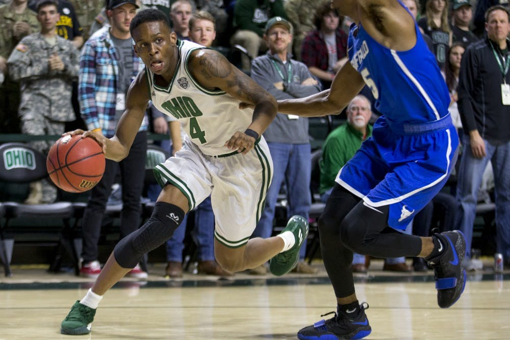 Men's Basketball: Ohio proves to be Buffalo's toughest MAC test in 73-66 loss Friday