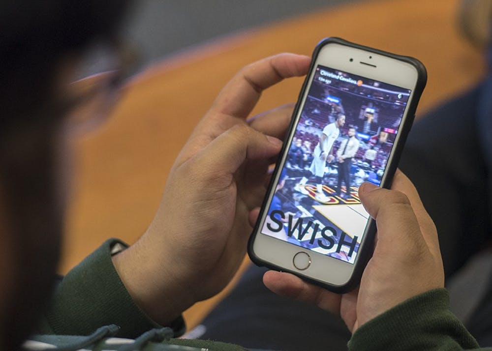 Students say they use Snapchat Stories and Instagram Stories differently, despite similar function