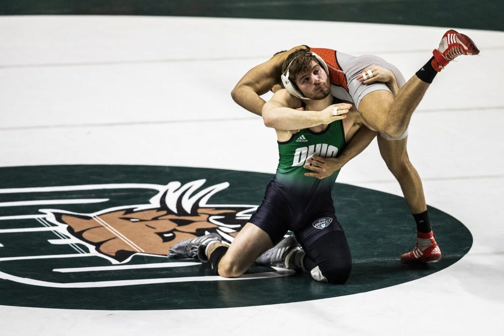 Wrestling: Ohio sees strong performances at Michigan State on Saturday