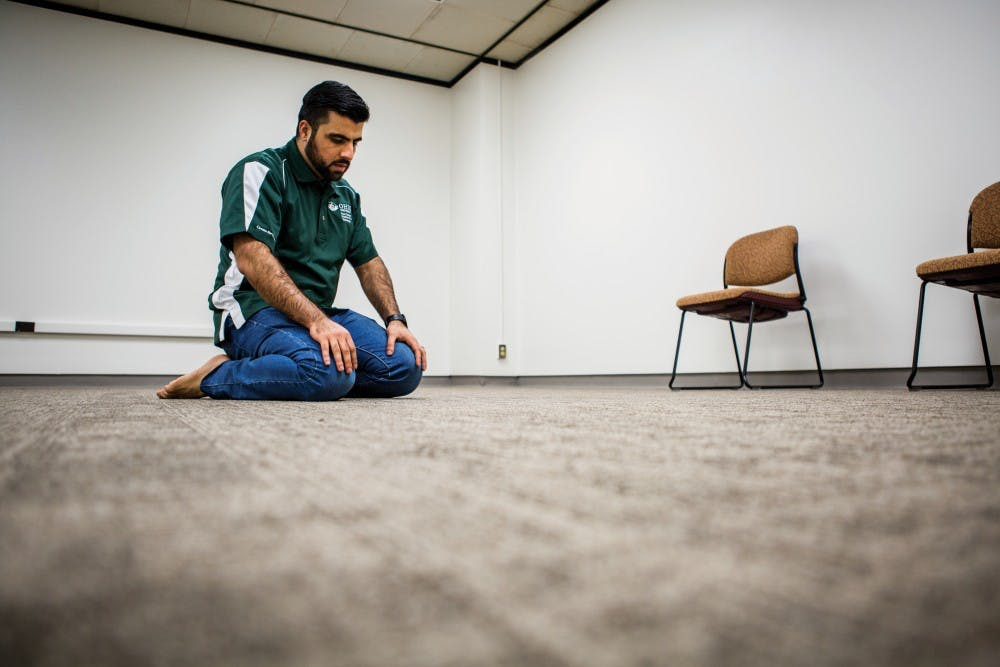 Alden Library's meditation room offers quiet place for students