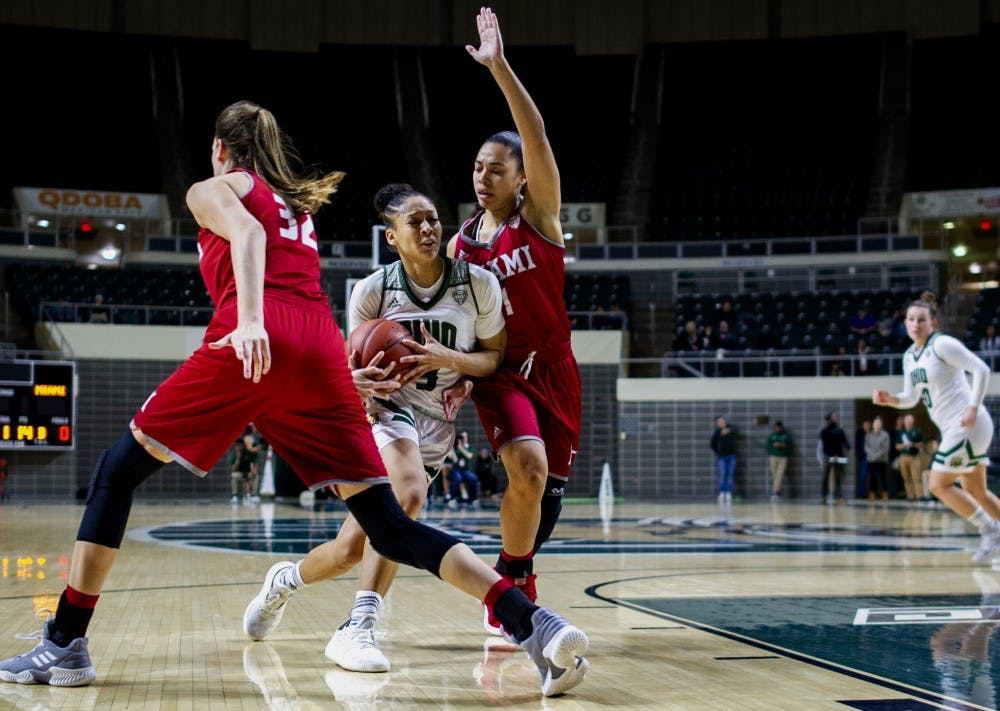 Women's Basketball: Ohio's offense disappears in the fourth quarter in 67-61 loss to Miami