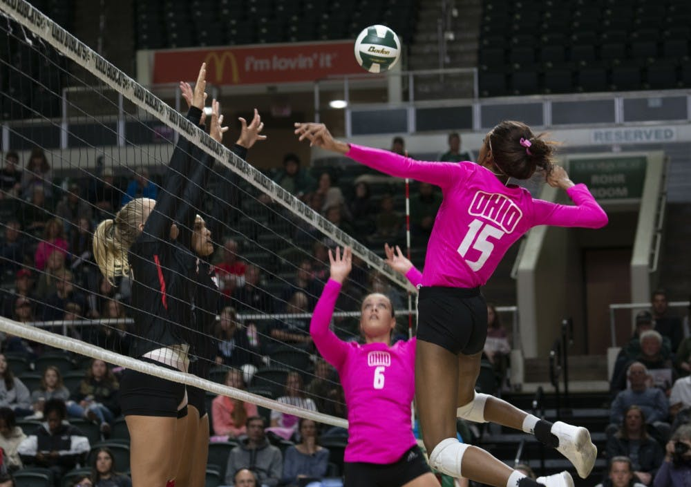 Volleyball: Ohio starts second half of conference schedule on the road