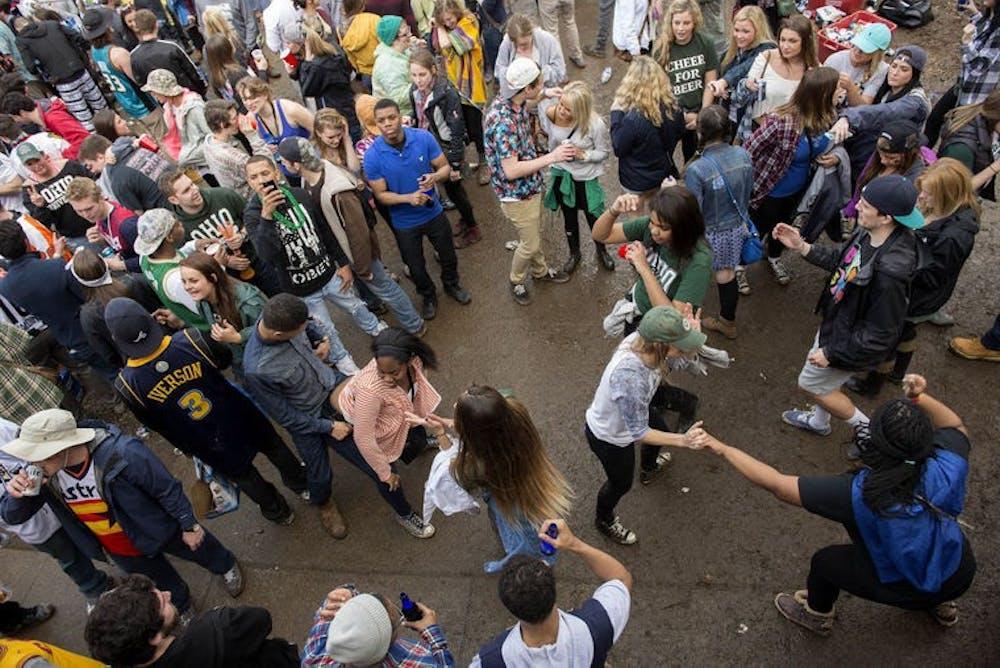 Ohio University's party school ranking drops again, but beats Miami