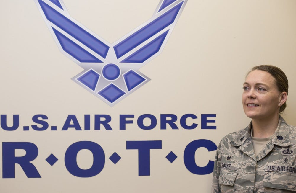 Layla Sweet named first female ROTC commander