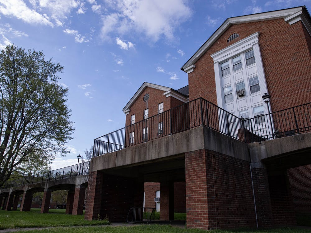 Weld House on Ohio University's South Green has plans to be torn down along with the catwalk leading to Nelson Dining Hall.