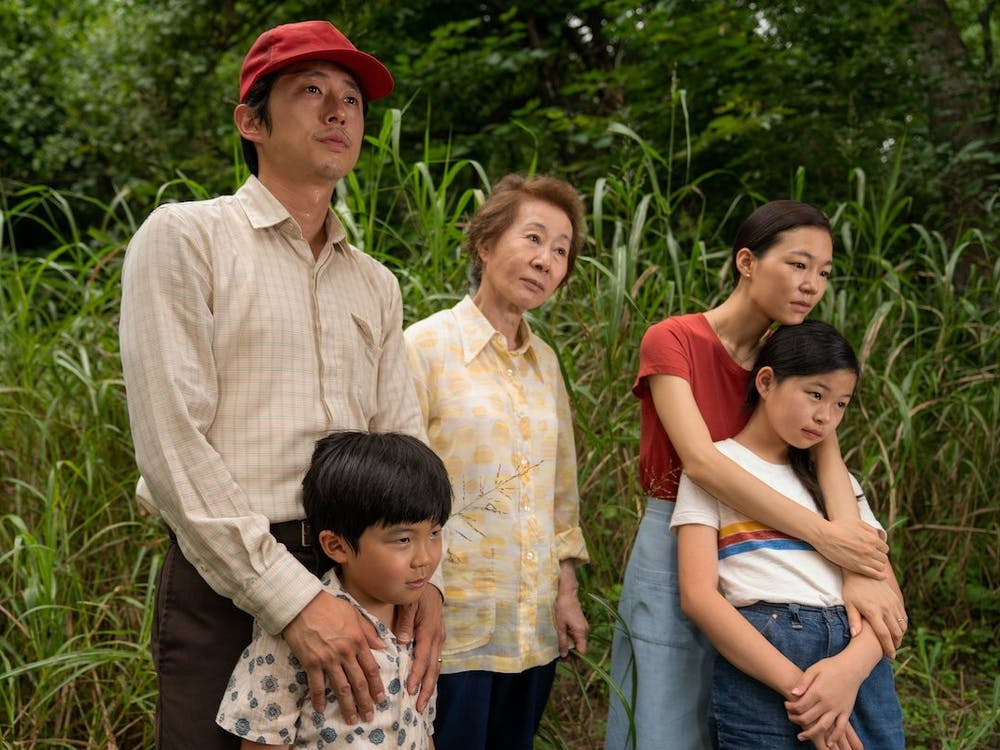 Lee Isaac Chung's 'Minari' is nominated for Best Picture at the 93rd Academy Awards. The film also garnered five other nominations. (Photo provided via @IFI_Dub on Twitter).