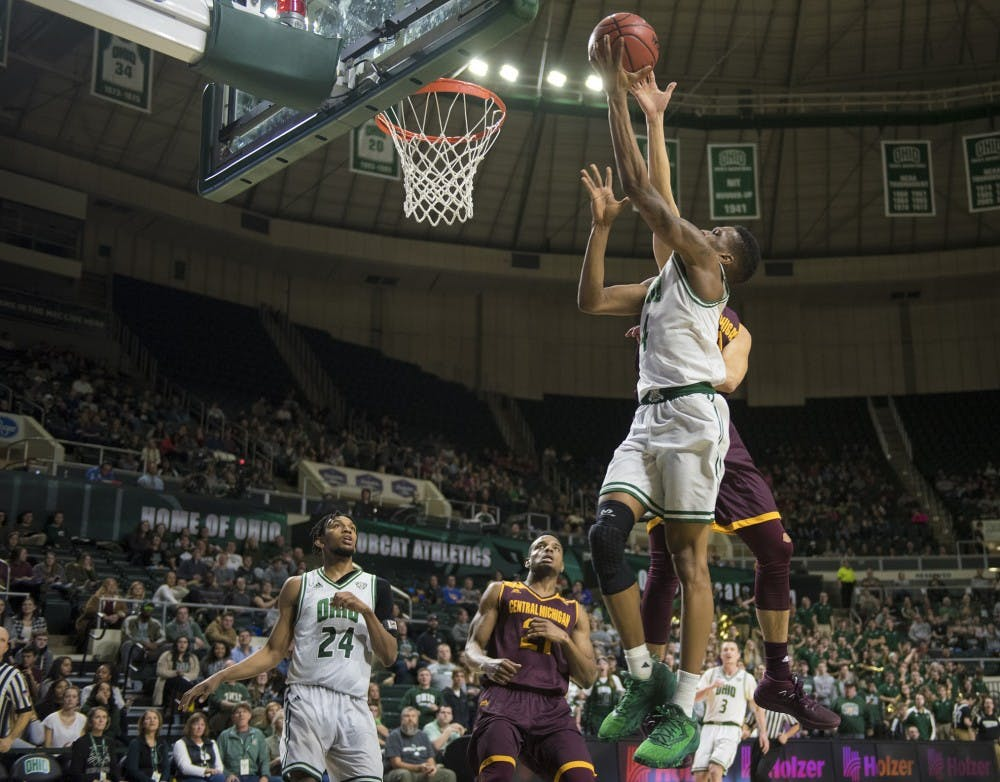 Men's Basketball: Teyvion Kirk's courtside view of Ohio's loss to Central Michigan