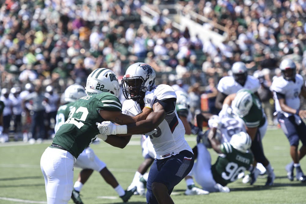 Football: Ohio survives upset scare to defeat Howard 38-32