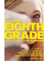 'Eighth Grade' is the directorial debut from Bo Burnham. (via @boburnham on Instagram)