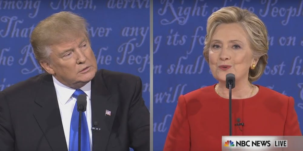 Clinton, Trump clash in first presidential debate