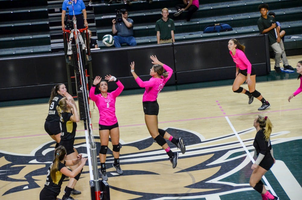 Volleyball: Ohio travels to Akron, Buffalo for final weekend road trip