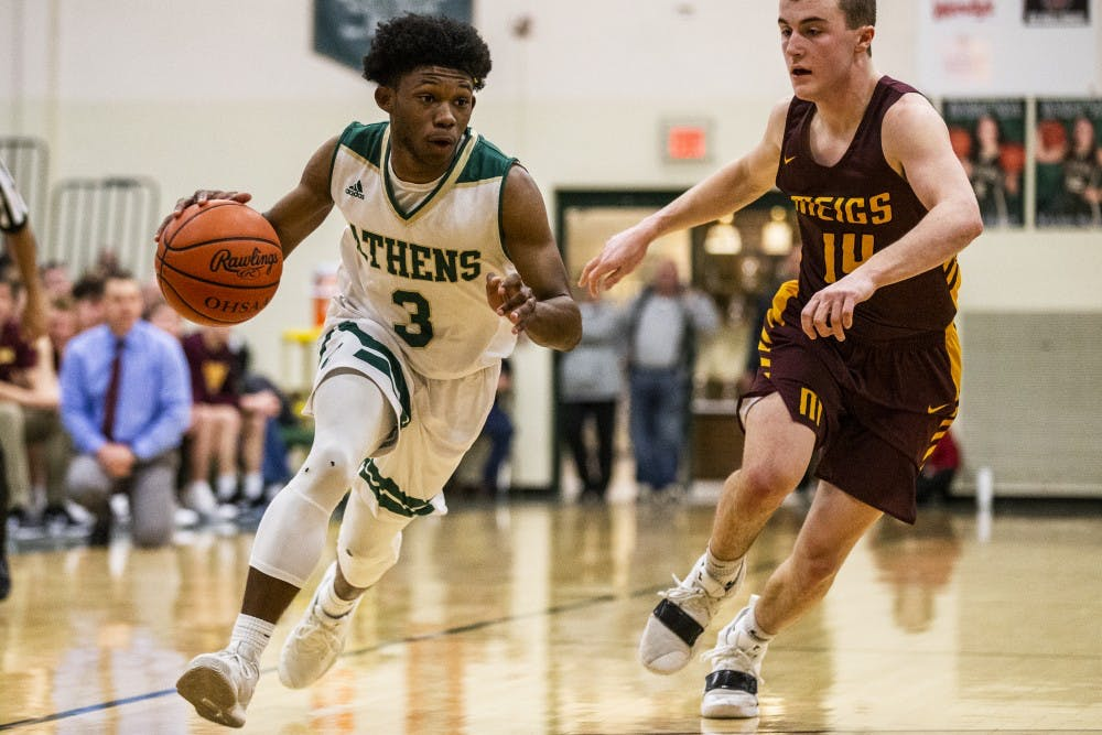 Athens Basketball: Stephens' steal clinches a share of the TVC-Ohio title