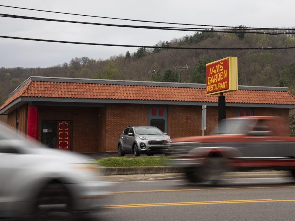 Lam's Garden Restaurant on State Street in Athens, Ohio.