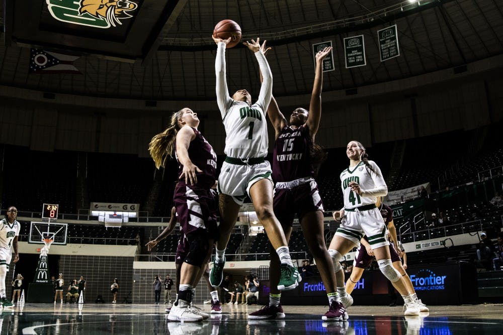 Women's Basketball: Ohio defeats Purdue 80-73 behind career-high performance from Cece Hooks