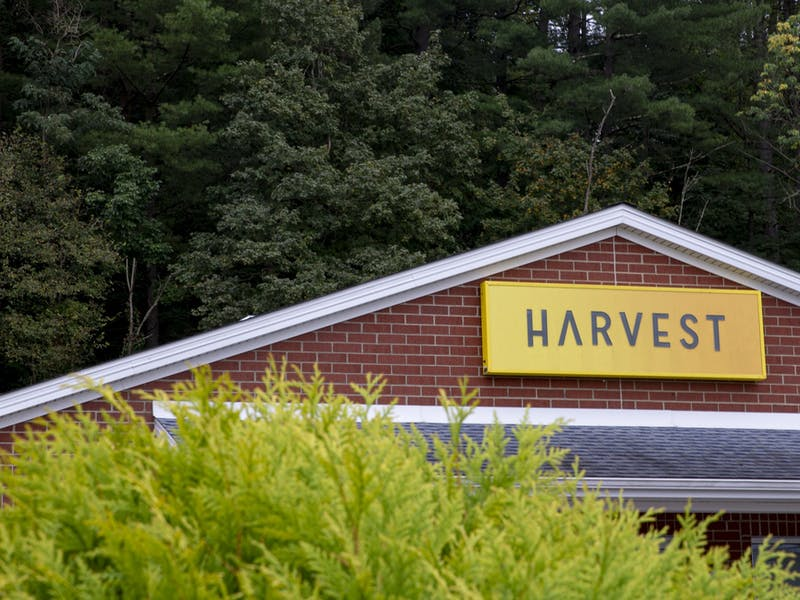 Harvest of Athens on W Union St. on Wednesday, Sept. 14, 2021. The new CBD dispensary in Athens, Ohio opened its doors for the first time on September 14, and will have its grand opening later in September. (Jesse Jarrold-Grapes | For The Post)