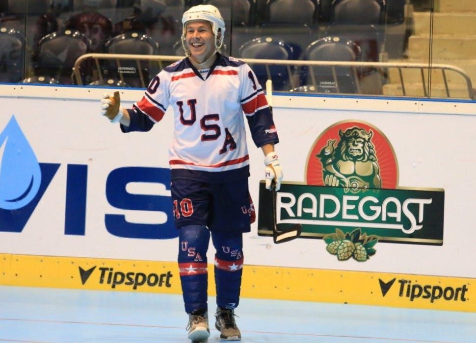 Hockey: Cody Black finds success with Team USA at Ball Hockey World Championships