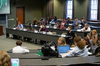 The Ohio University Student Senate meets on Sept. 18. (FILE)