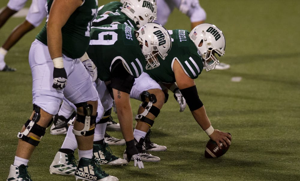 Football: Ohio's offensive line amongst units making adjustments