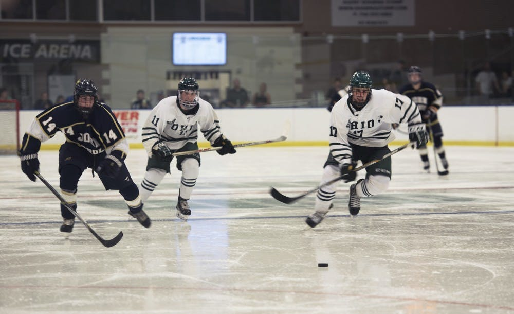 Hockey: No. 3 Ohio will face toughest test yet in No. 14 Jamestown