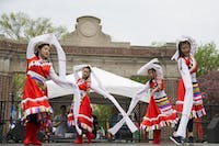 Chinese dancers perform at the International Street Festival on April 15, 2017. (FILE)