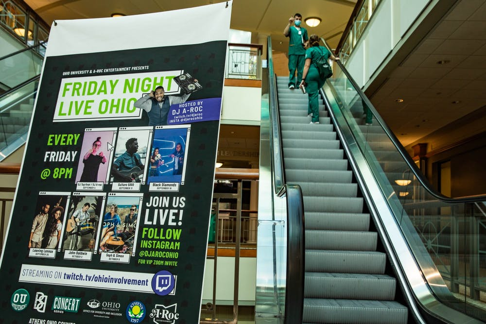Friday Night LIVE show involves students with virtual music