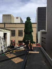 Topiary Man - Curtis Smith Project