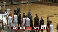Men's basketball team wins first game in a year