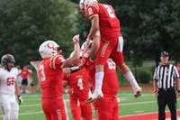 The Otterbein Cardinals won their first season game against Ohio Wesleyan on Sept. 1 with a score of 10-7.