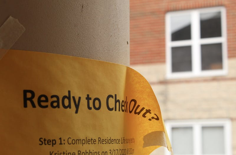 Otterbein asks students to move out a month and a half early due to COVID-19 concerns.