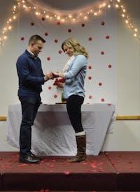 Allison Wheeler proposal with Adam Sullivan