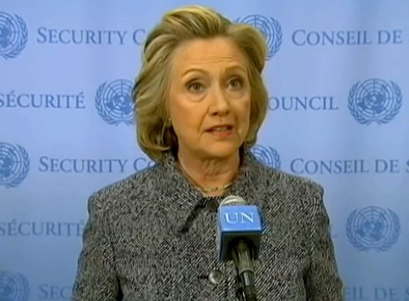 Clinton comments on email controversy
