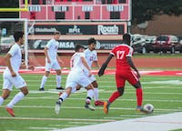 Junior midfielder Eric Stuckey scored two goals during their match against Muskingum.