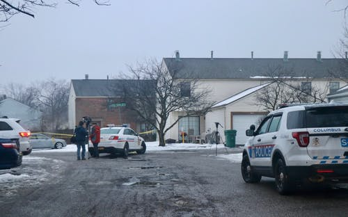 Photos from the Westerville Officer Shooting