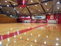 The Rike Center houses the home basketball courts for Otterbein's basketball and volleyball teams.