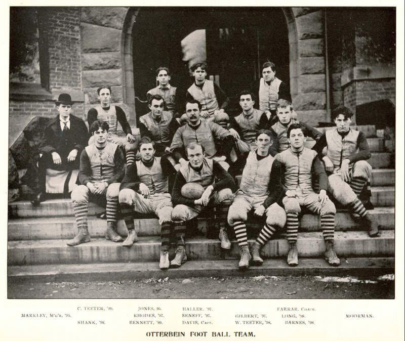 1899 Otterbein football team