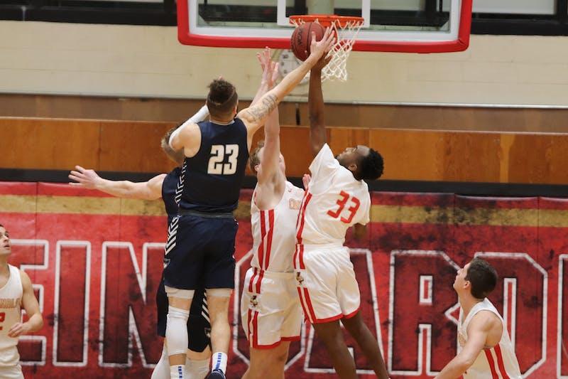 freshman Dallas Patrick #33 2019-2020 men's basketball