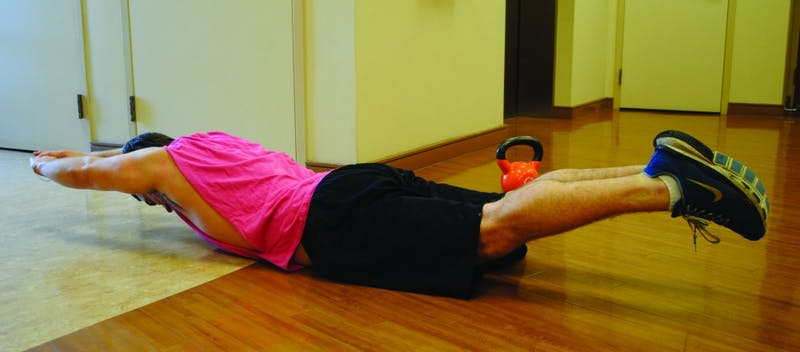 Planking, the recent trend to lie horizontally in random places, is actually a good workout for your entire body, including your arms, legs, back and abdomen.