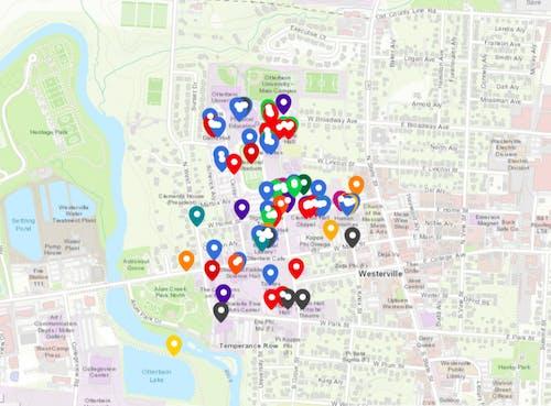 Otterbein Area Crime Map 08:22:2018 .jpeg