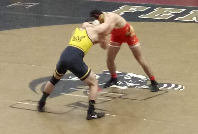 Otterbein's wrestling team finished with a 2-2 record at the 2018 Southeast Duals in Salem, Virginia.