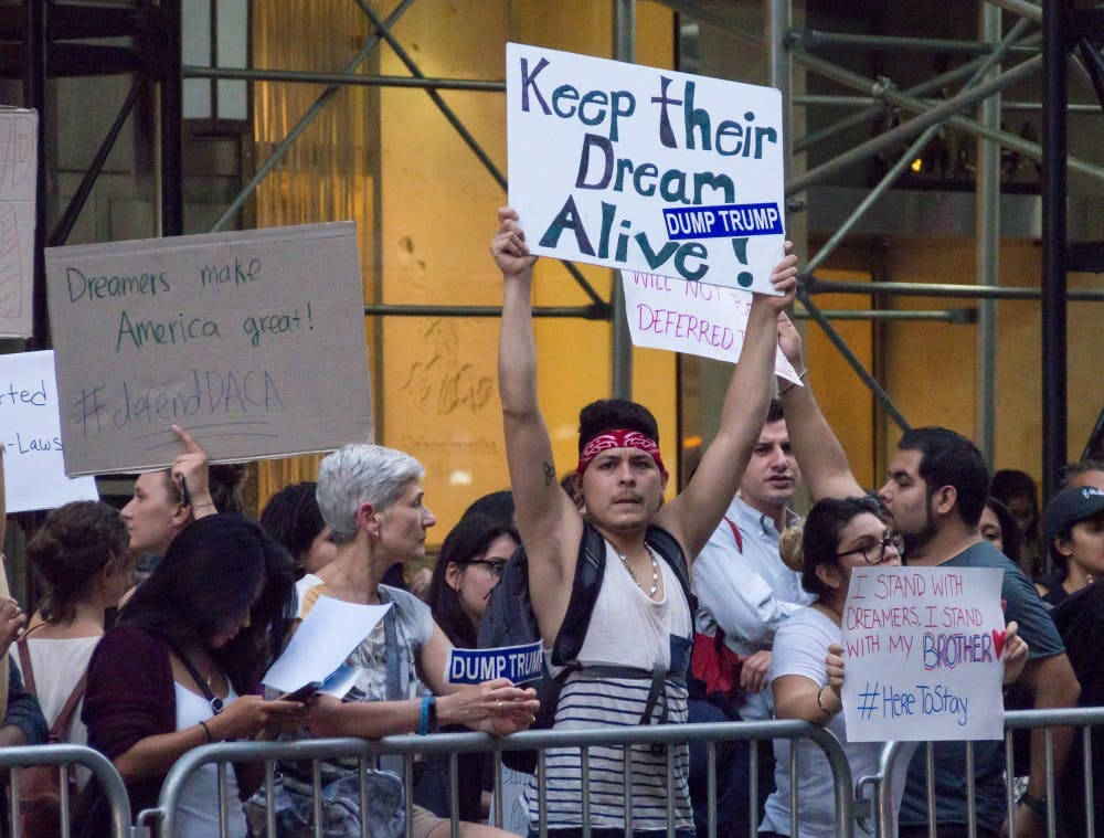 DACA_protest_at_Trump_Tower_(52703)