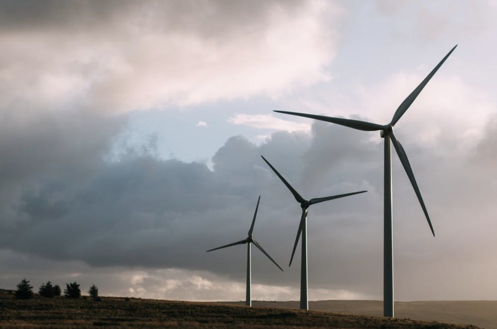 <p>The 17 percent increase in energy production from wind turbines, previously credited to technological innovation, was in fact largely due to a reversal of wind speed pattern.</p> <h6>Photo Courtesy of Sam Forson</h6>